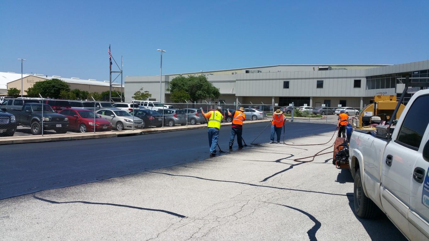 asphalt paving contractor midland tx